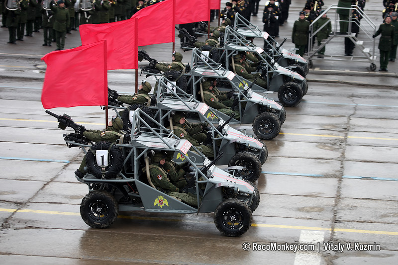 Light tactical buggy Chaborz M-3