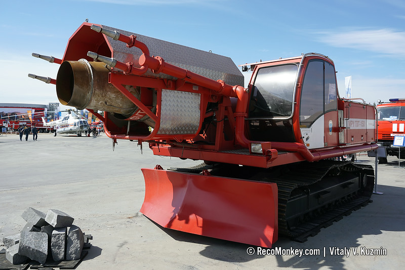 GVT-150 fire fighting UGV