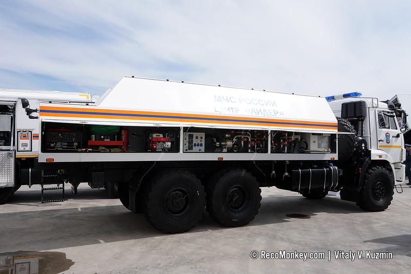 MKSO decontamination vehicle