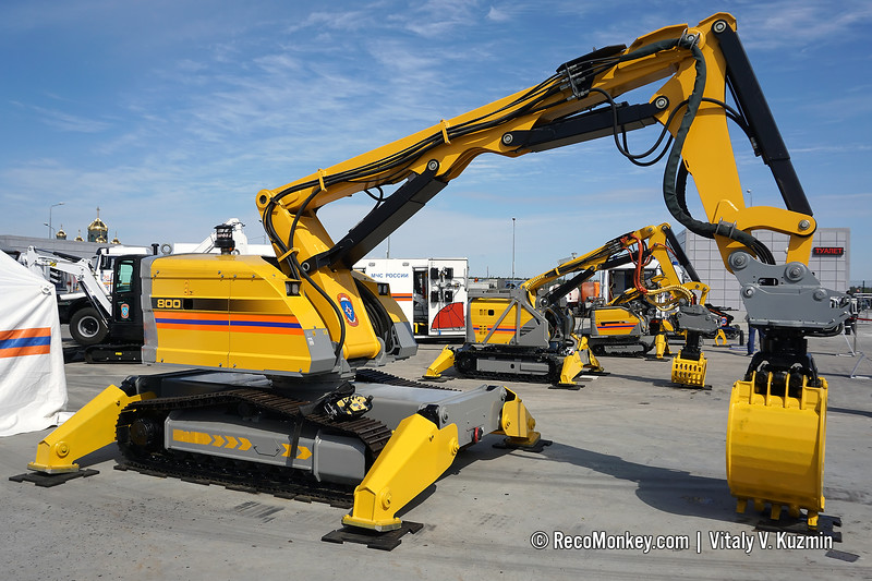 BROKK-800D demolition robot