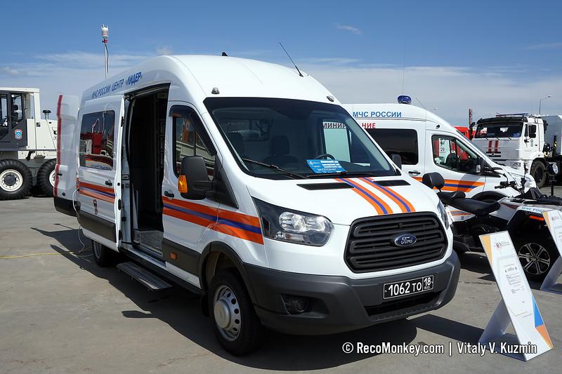 Air pollution control vehicle