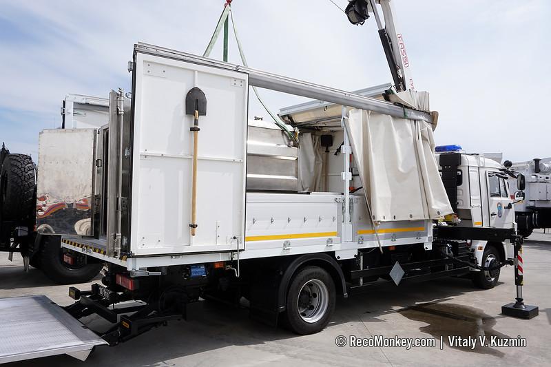 MTRVO hazmat vehicle