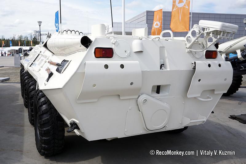 RKhM-4 CBRN recce vehicle