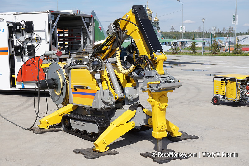 BROKK-180 demolition robot