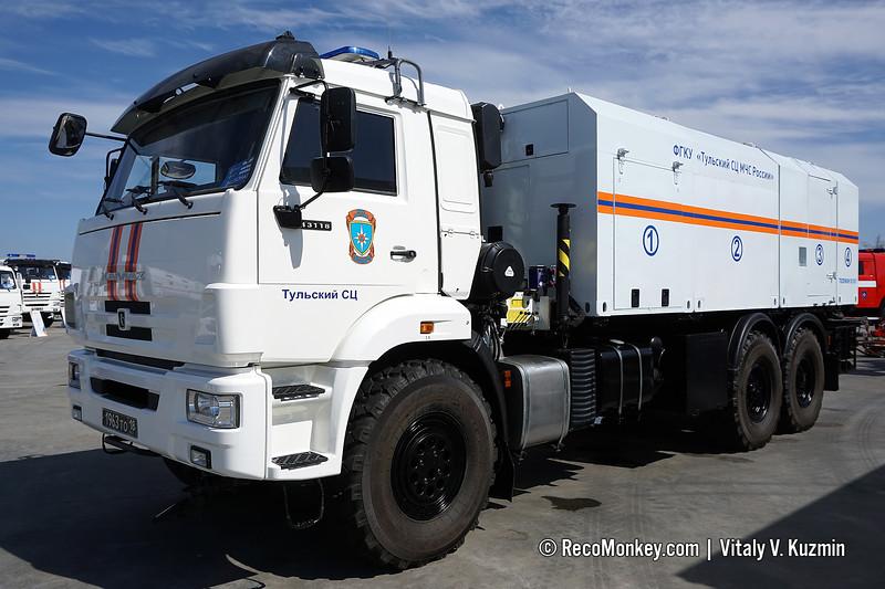 VMMK-SSO decontamination vehicle