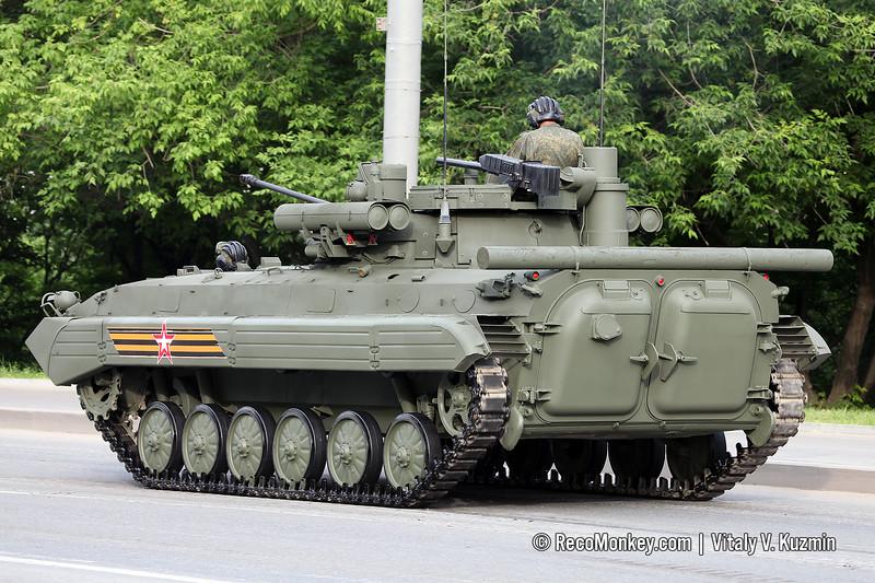 BMP-2M with B05Ya01 Berezhok turret