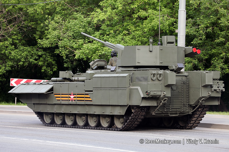 T-15 Armata with Kinzhal turret