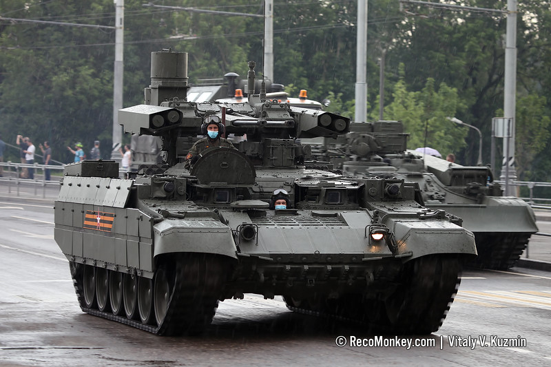 BMPT armored fighting vehicle