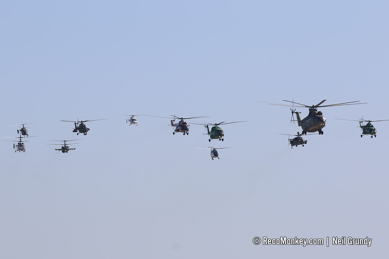 Helicopter Flypast