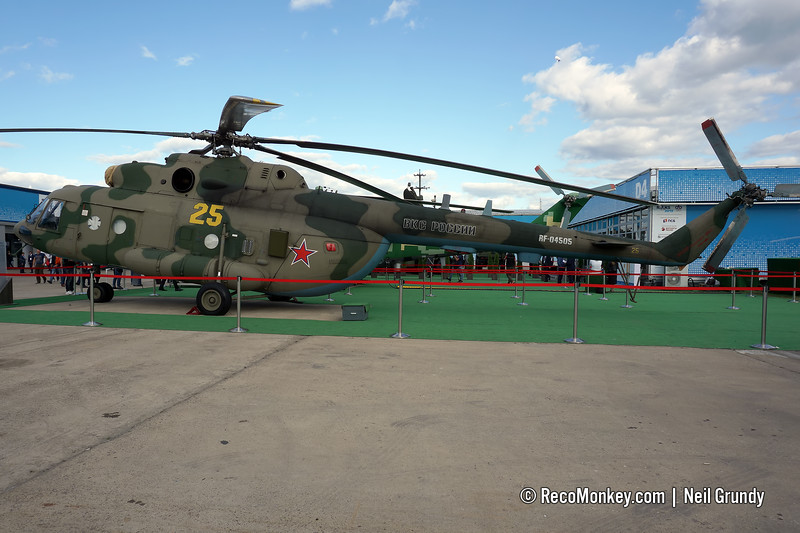 Richag-AV-E on Mi-8MTPR-1