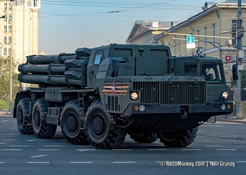 9A52-2 launcher for 9K58 / BM-30 Smerch MLRS