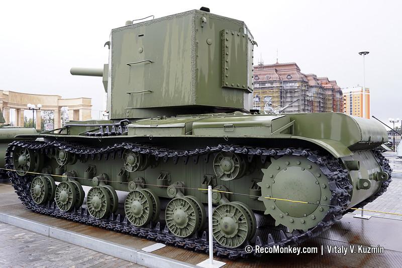 KV-2 heavy tank