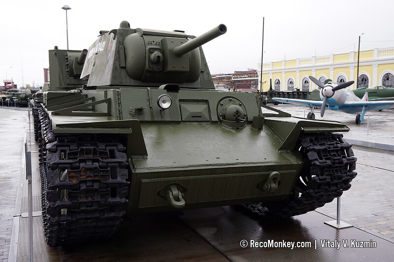 KV-8 flame tank