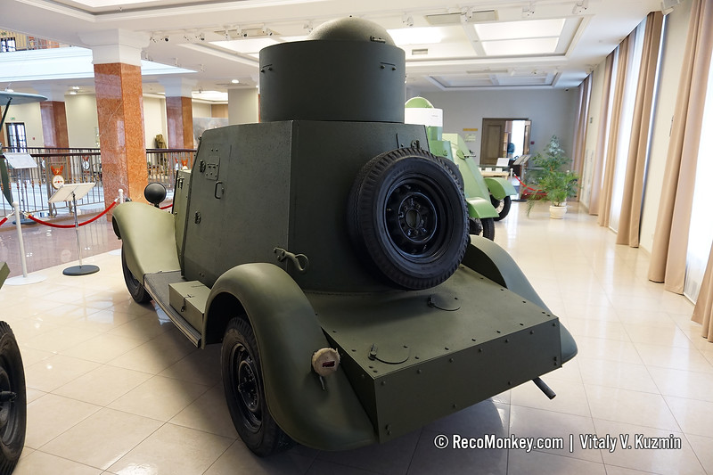BA-20 armored vehicle