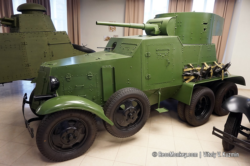 BA-3 armored vehicle