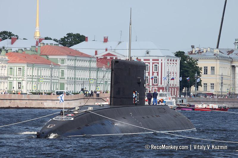 B-206 Dmitrov submarine Project 877EKM Kilo-class