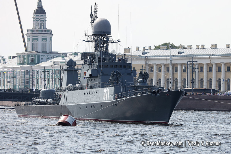 Kazanets anti-submarine corvette Project 1331M Parchim-class