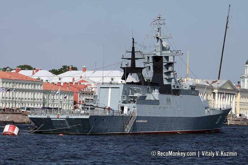 Soobrazitelnyy corvette Project 20381 Steregushchy-class