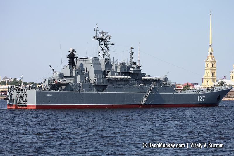 Minsk landing ship Project 775 Ropucha-class