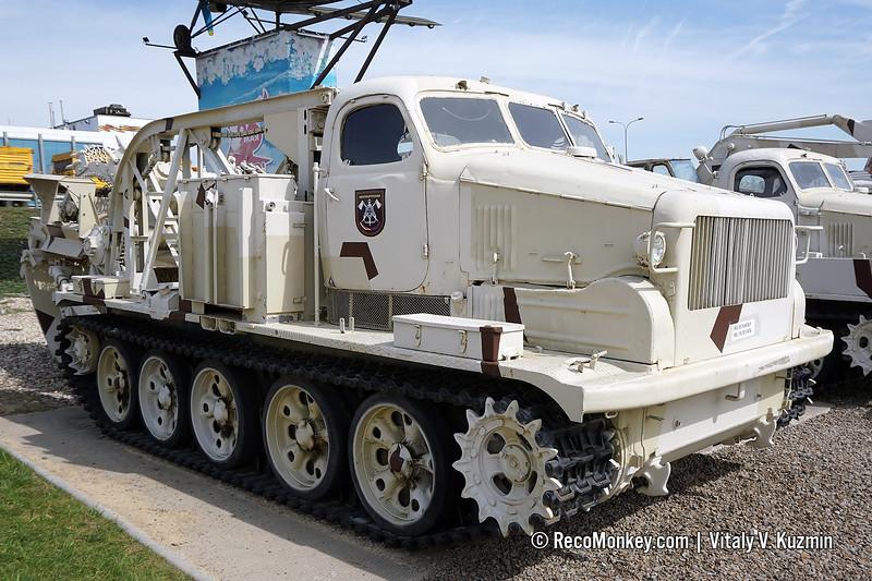 BTM-3 trenching vehicle