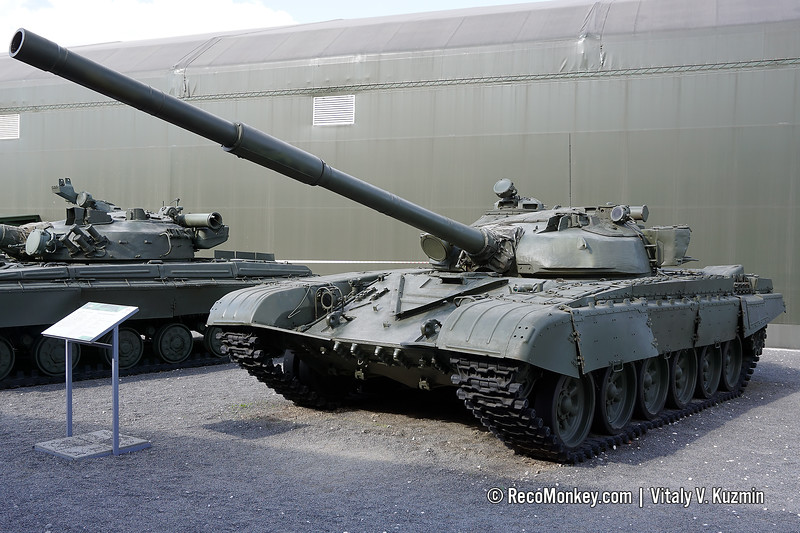 T-72A mod.1979 with 1983 upgrades