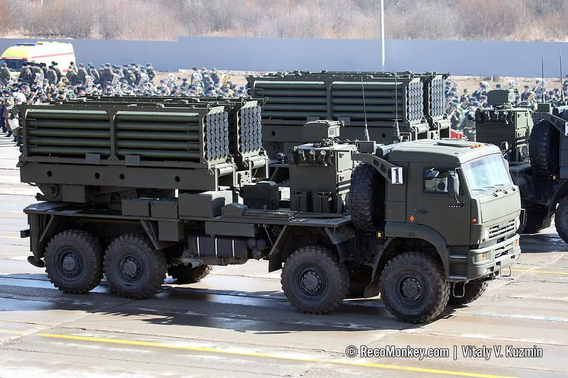 ISDM Zemledelie-I minelaying system launcher