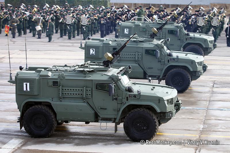 K-4386-PVO Typhoon-PVO armored vehicle
