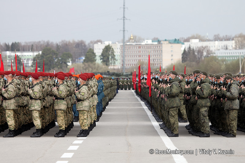 Dzerzhinsky Division and 27th Interdependent Guards Sevastopolskaya Motor Rifle Brigade