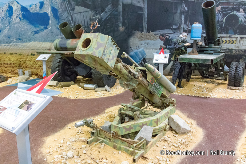 120mm ISIS Scratch-Built Gun