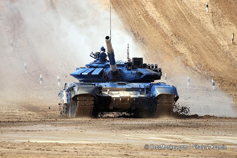 T-72B3 tank of team Vietnam