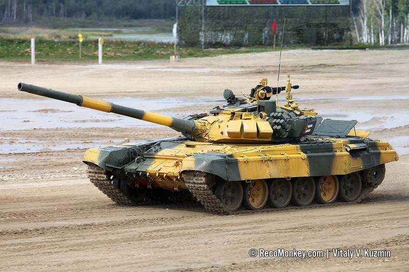 T-72B3 tank of Cuba team