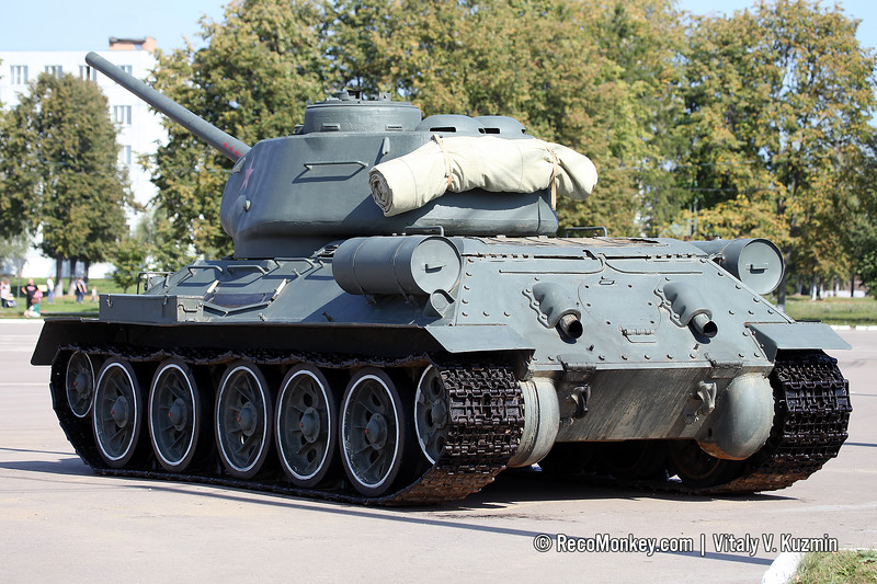 Czech produced T-34-85 recently delivered from Laos