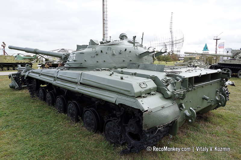 T-64A with KMT-5M mine roller