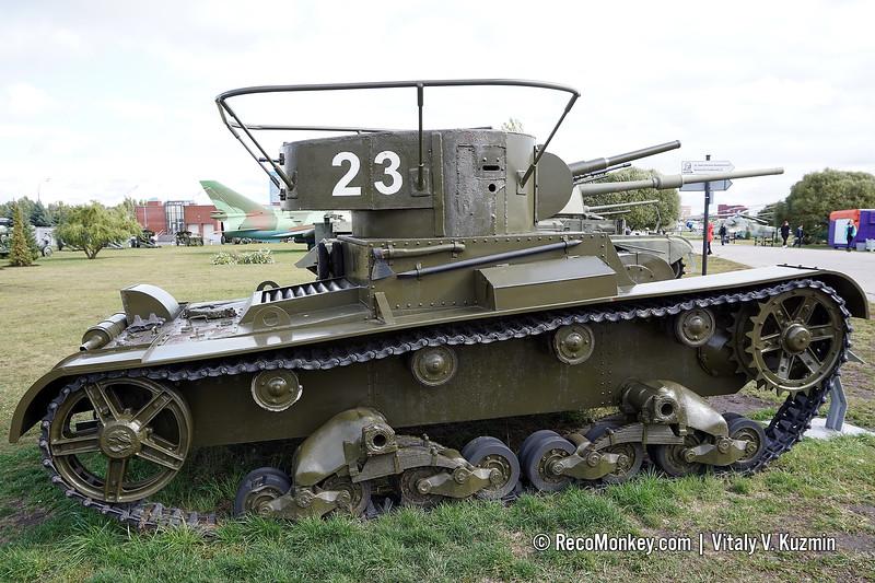 T-26 mod.1933 replica with some original parts