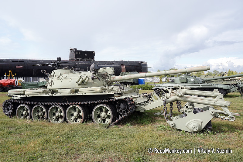 T-55A with KMT-5M mine roller