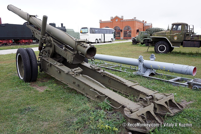 Testing launcher for 300mm Smerch rockets