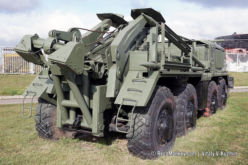 KET-T recovery vehicle