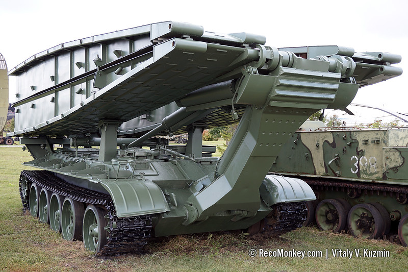 MTU-55 bridge-laying vehicle