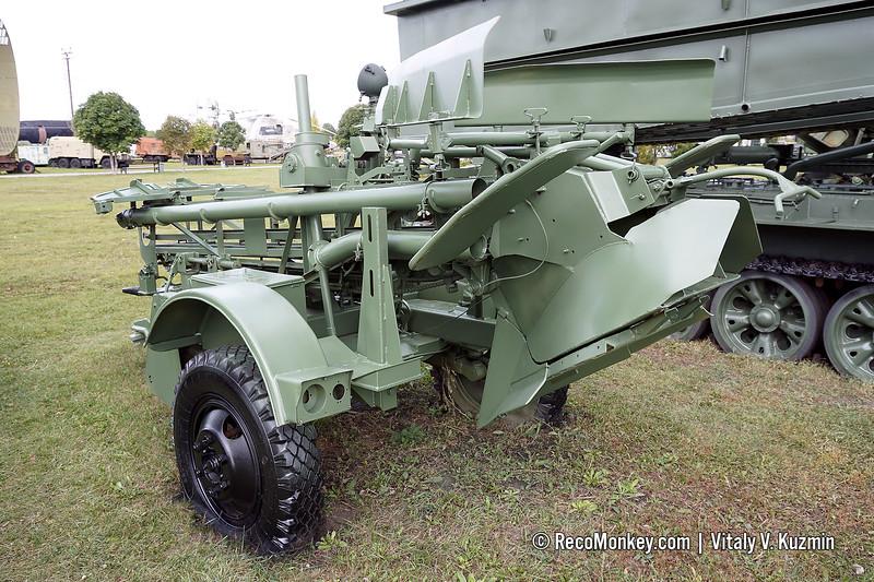 PMZ-4 mine-laying trailer