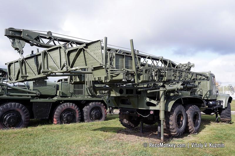 USM bridge construction vehicle