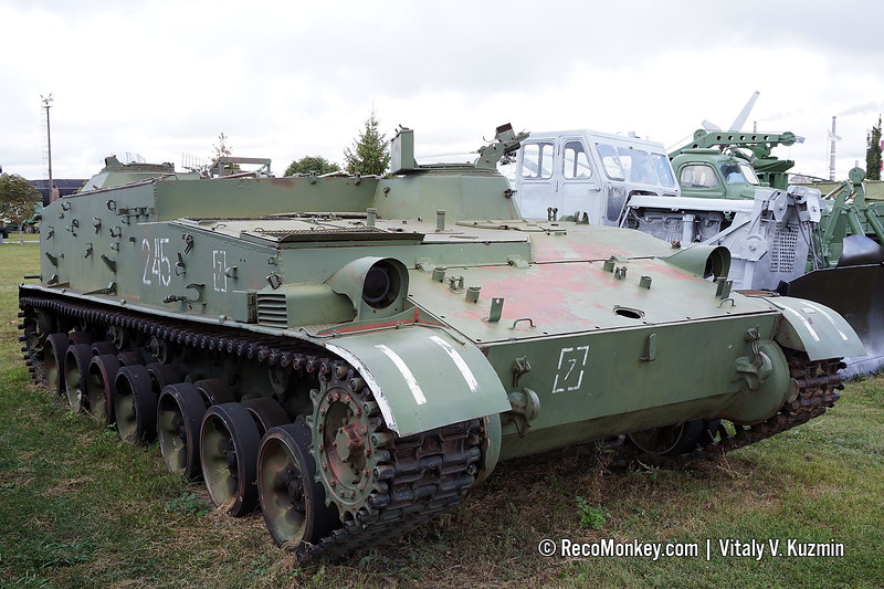 GMZ-1 minelayer, second vehicle in the collection