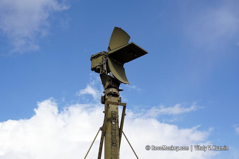 5N66M radar on 40V6M mast