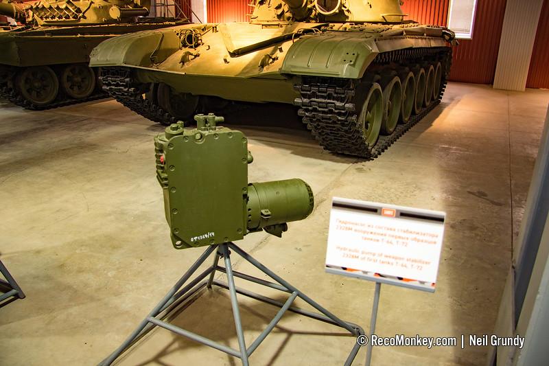 Gun Stabiliser Hydraulic Pump for 2E28M of T-64 & T-72