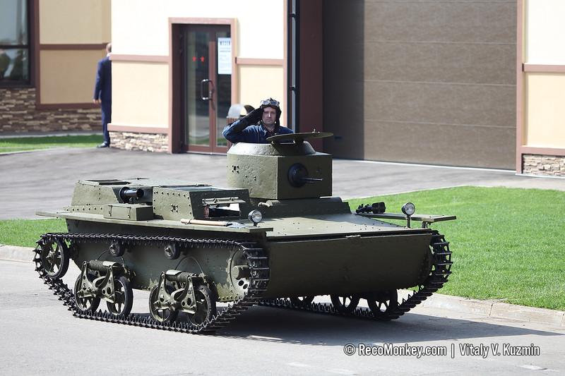 T-38 amphibious light tank