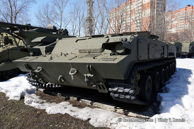 GM-352 tracked chassis