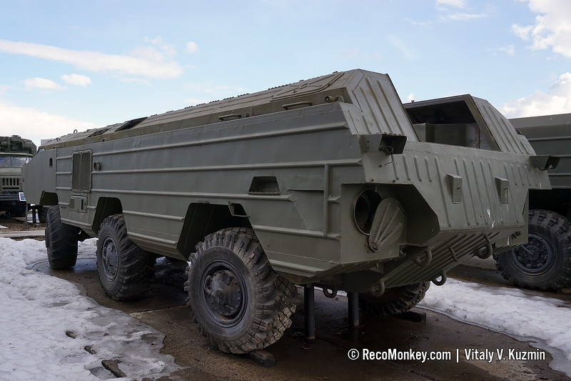 BAZ-5921 chassis