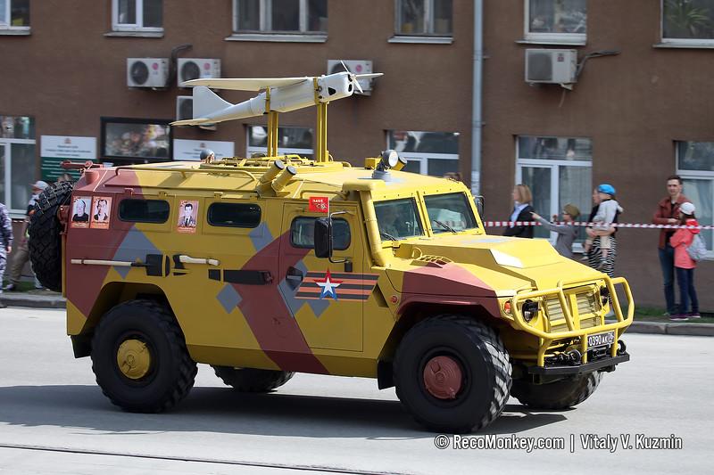 ASN 233115 Tigr-M SpN with Orlan-10 UAV