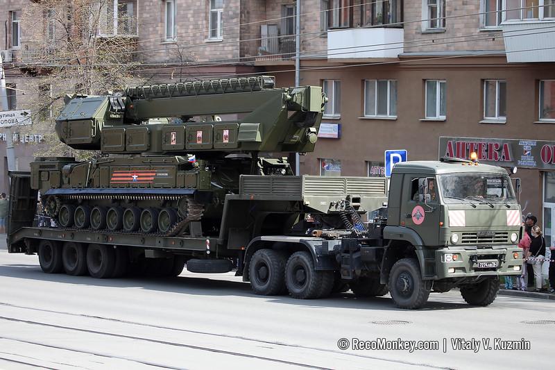 9S36M engagement radar of 9K317M Buk-M3