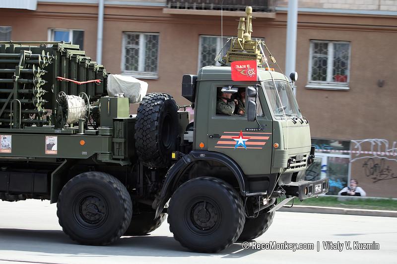 Antenna vehicle of GT-01 Murmansk-BN EW system