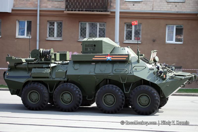 R-149MA1 command vehicle